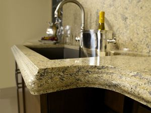Quartz Surface Countertops Bridge The Gap Between Expensive Natural Stone  And Completely Artificial Materials. Click The Image To Visit Our Site And  See ...
