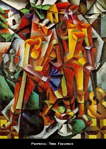 Two Figures - Georges Braque (1913-14)