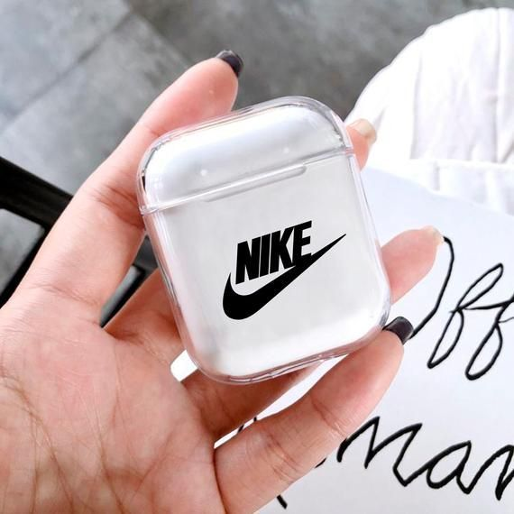Crítica nariz Sabroso  Apple AirPods - Airpods case Inspired Nike Apple AirPods clear Case Plastic  AirPods classic design Airpods… | Earbuds case, Phone case accessories,  Apple phone case
