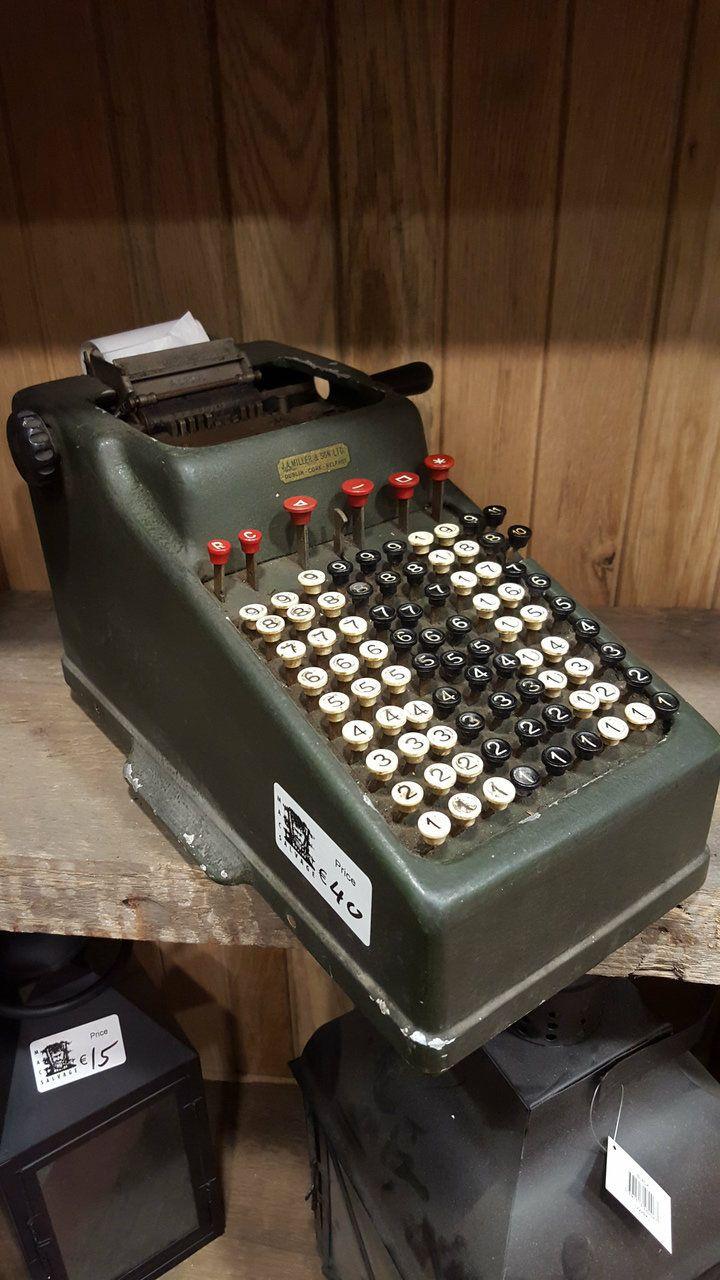 vintage adding machine - Mac's Warehouse Dublin