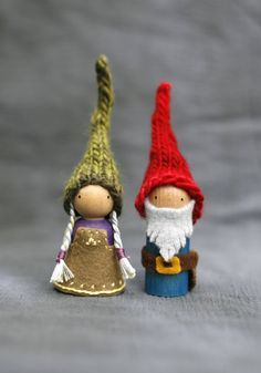 Waldorf Inspired Gnome Couple