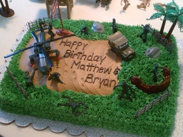 Enjoyable Easy Army Birthday Cake Army Military Birthday Cake Easy Army Personalised Birthday Cards Paralily Jamesorg