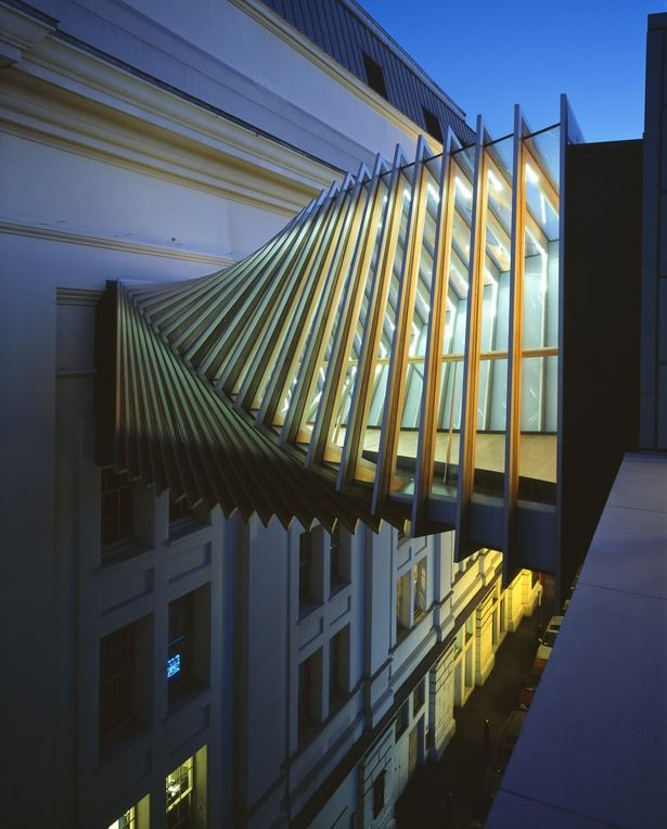 Royal Ballet School: Bridge of Aspiration | WilkinsonEyre | Archinect