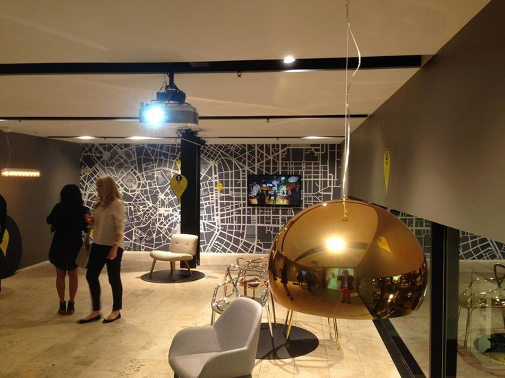 Our Milan map wallpaper was the perfect backdrop at Space Furniture's recent launch