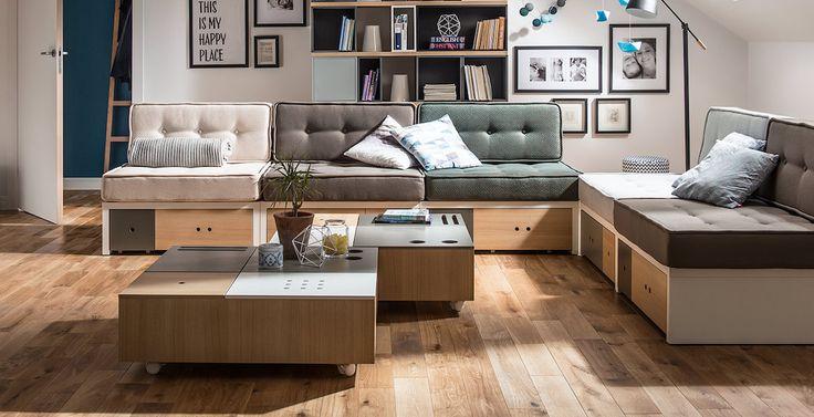 Atraskite modernius sprendimus savo svetainėsinterjero jaukumui ir komfortui! Svetainės interjero dizaino pavyzdžiai Jūsų patogumui pateikiami su juose panaudotais baldais.