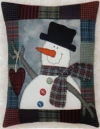snowman pillow patterns - Google Search