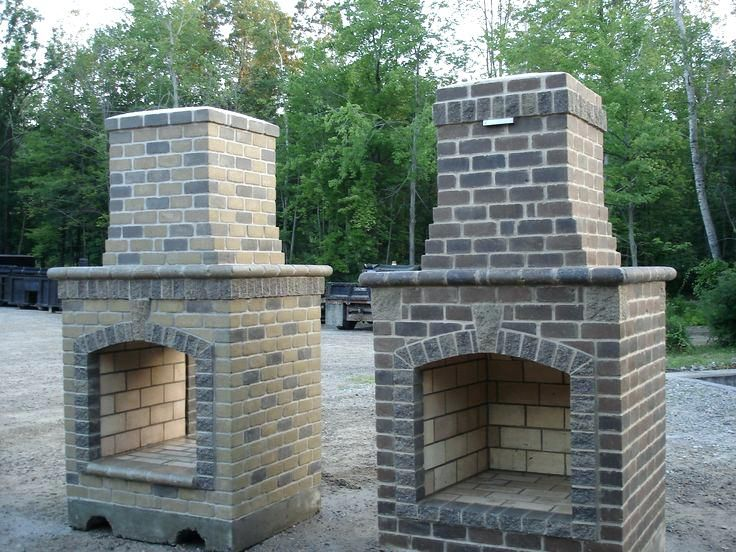 Outdoor Brick Fireplace Kits How To Turn My