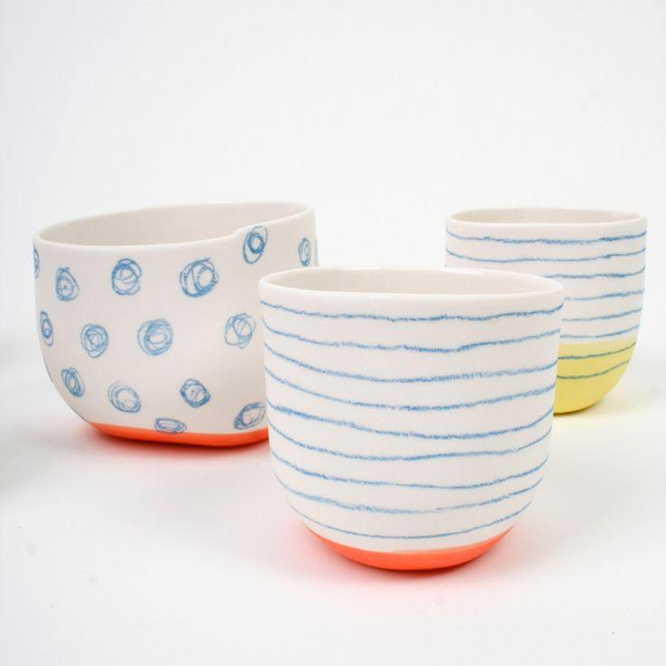 bowls & cups 1 - e. hibelot