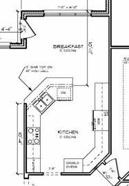 kitchen floor plans 38 best kitchen floor plans images on 1664