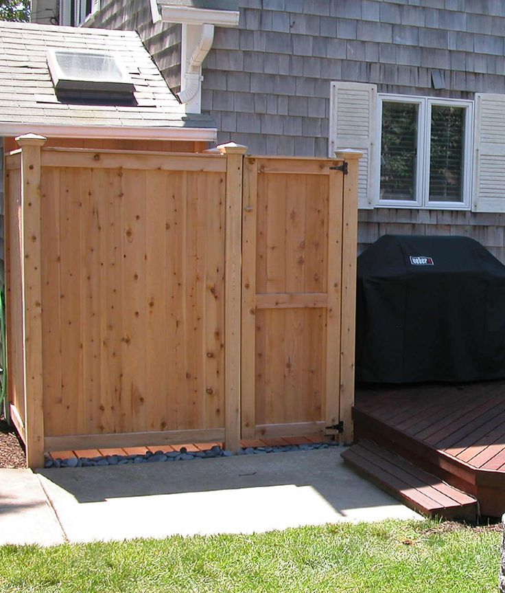New '83 XL Outdoor Shower Kit from Cape Cod Shower Kits, available at Stonewood Products