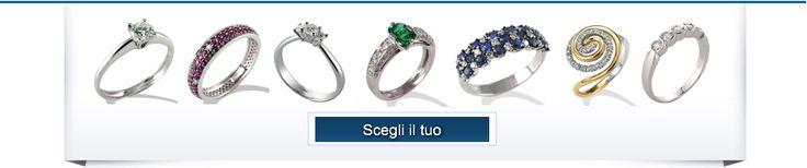 Anelli di Fidanzamento in vendita online su Torinogioielli ai migliori prezzi.