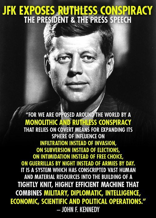 "COVERT SCIENCE- EVERYTHING YOU KNOW IS WRONG-This seems more relevant today than ever.  Excerpt from a speech he made seven days before he was assassinated.  ""We close our eyes-1940-1999"""