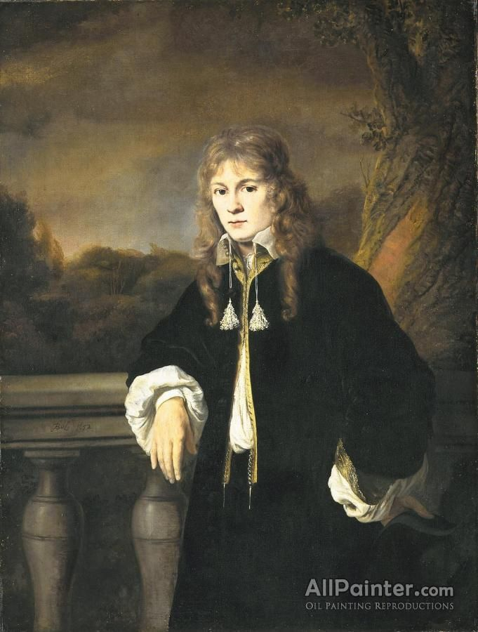Ferdinand Bol,Portrait Of A Young Man, Presumably Louis Trip, Junior oil painting reproductions for sale