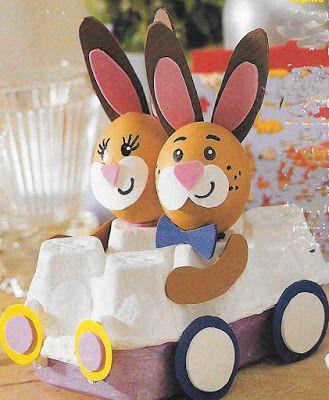 15 Ideas de manualidades infantiles reciclando botellas y cartones de huevo ~ Solountip.com