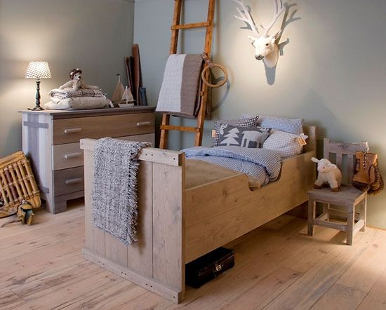 mommo design: NATURAL BOYS ROOMS