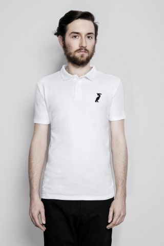 WISŁAKI_organic cotton polo t-shirt