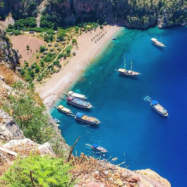 Butterfly Valley in #Oludeniz Turkey