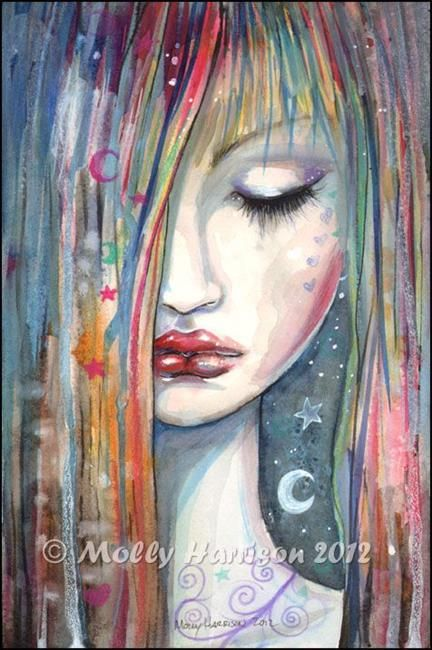 Art: asleepfull by Artist Molly Harrison
