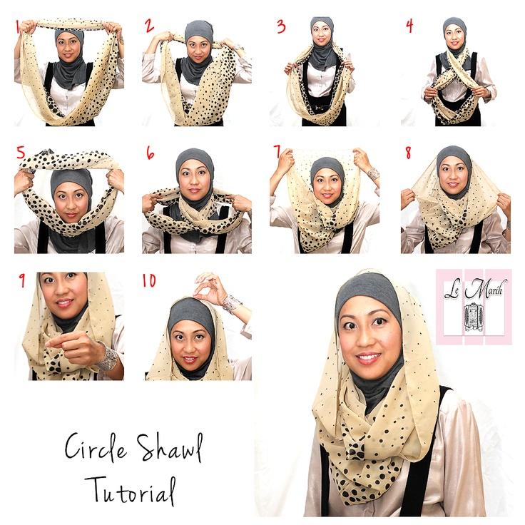 LeMarih - Circle Shawl Basic tutorial