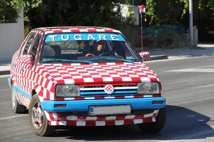 Croatian car :) #Croatia #Chorwacja http://CroLove.pl // https://plus.google.com/102704051814496422465/posts/AJKqALGF3j6