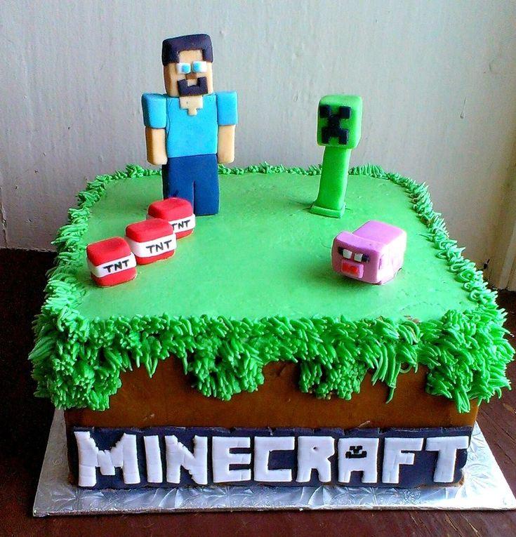 Торт в мастике минекрафт фото