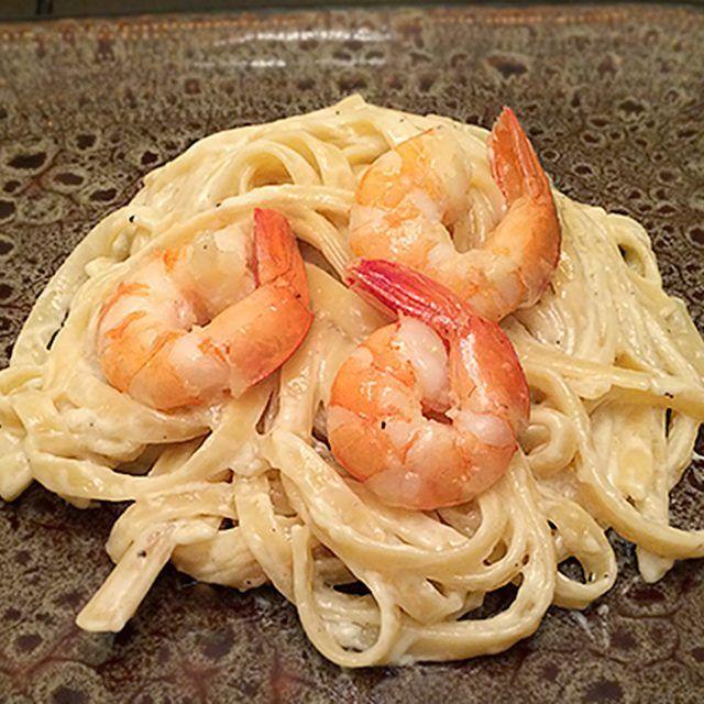 Shrimp Fettuccine Alfredo!