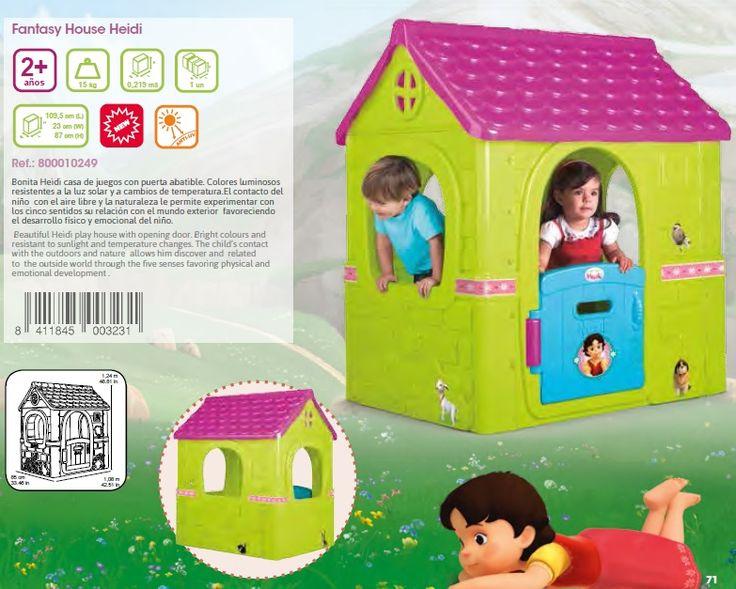 27 best images about feber juguetes cat logo completo de for Casita infantil feber