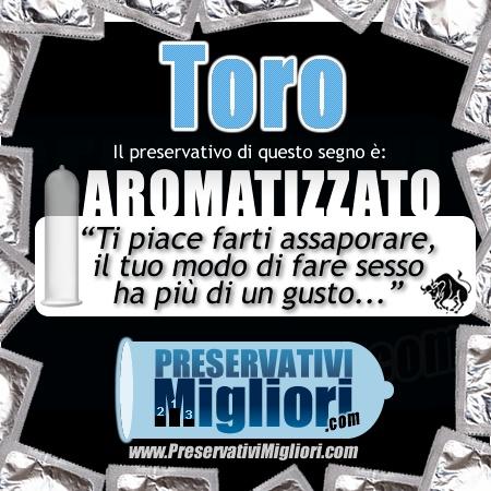 """Toro - Preservativo Aromatizzato - """"Ti piace farti assaporare, il tuo modo di fare sesso ha più di un gusto"""" - http://www.preservativimigliori.com/aromatizzati.html"""