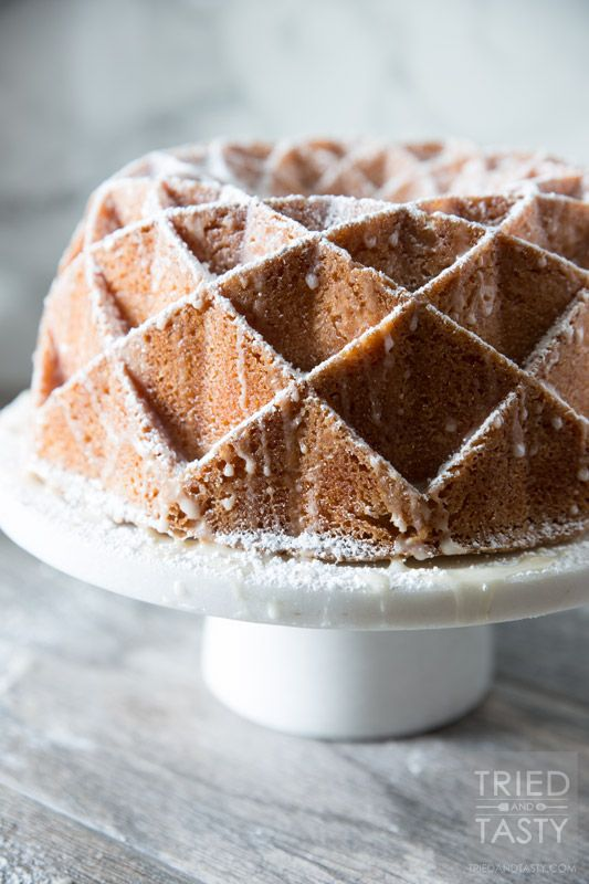 Mamas 7UP Pound Cake | This family recipe is one you'll want to make over and over again. It feeds a crowd and will get rave reviews at first bite. Make Mama's 7UP Pound Cake for birthdays, holidays, or any special occasion in between.