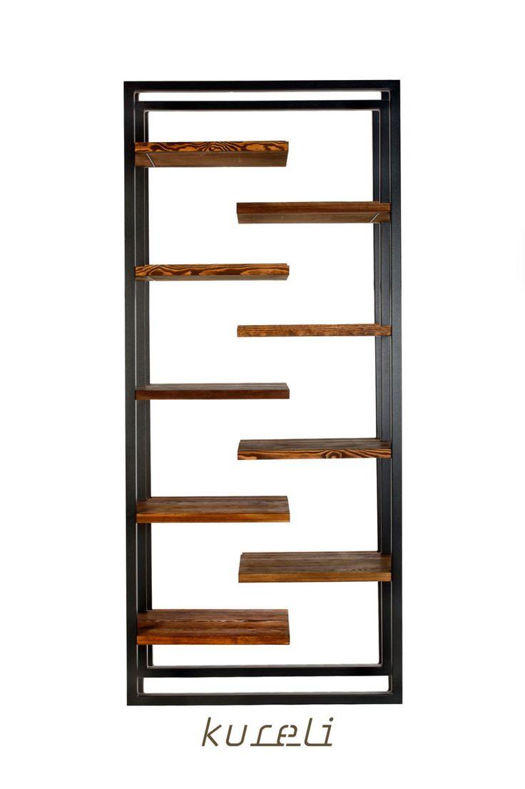 ZigZag shelf - big shelf from KureliDesign by KureliDesign on Etsy