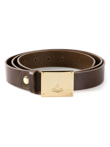 Vivienne Westwood / orb buckle belt