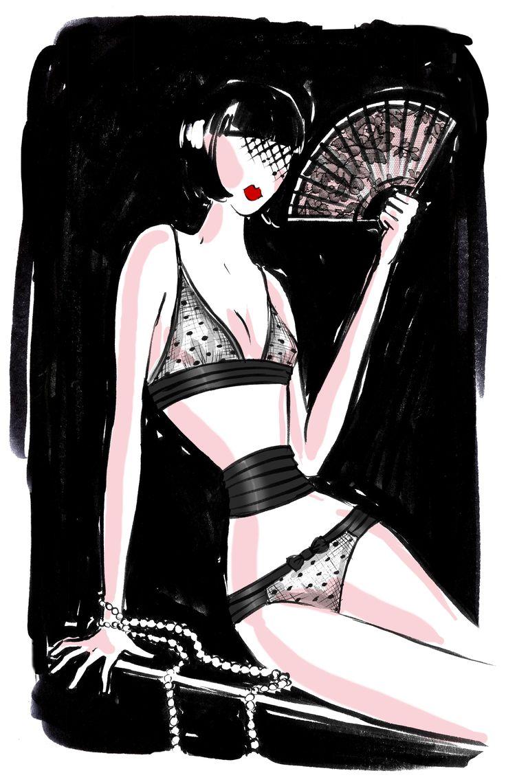 MISS BOY - Collection Automne-Hiver 2014  #ChantalThomass #Lingerie #Paris