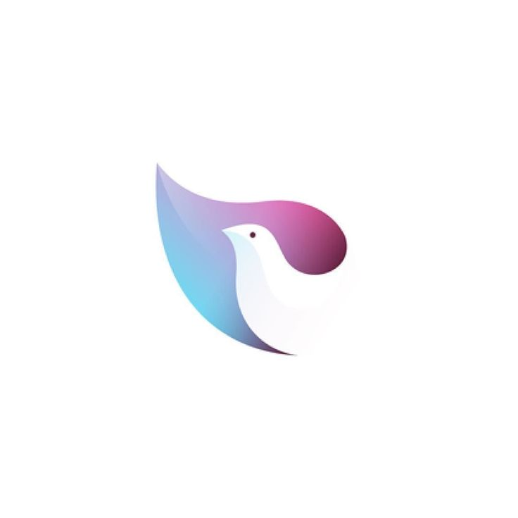 Dove by Yuri Kartashev @kartashev_yuri  logoinspiration.net by logoinspirations