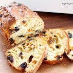 Gezond rozijnenbrood met spelt en yoghurt