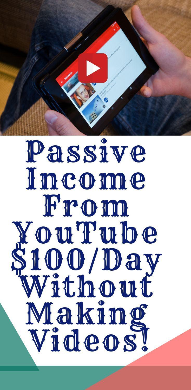Erhalten Sie passives Einkommen von YouTube, ohne Videos zu erstellen, YouTube Video Marketi