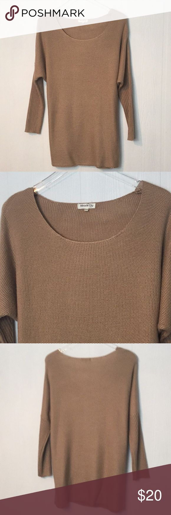 Oversize-Ausschnitt lange Tunika Pullover Wollmischung Sm Super süß und geht mit je …   – My Posh Picks