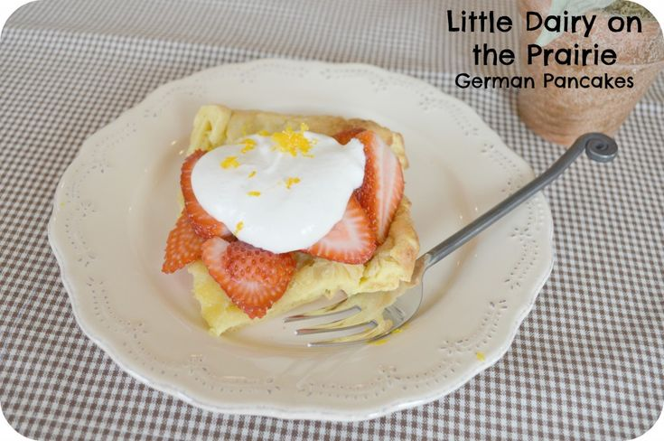 Great German pancakes recipe (yummy with sausage)