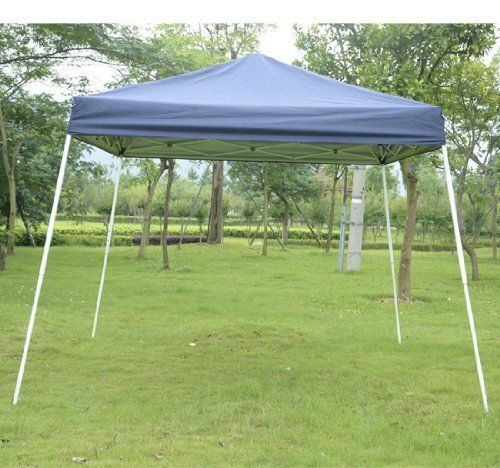 Outsunny Slant Leg Easy Pop Up Canopy Party Tent 8 X Feet