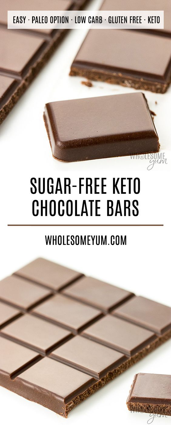Low Carb Keto Chocolate Bar Recipe Learn How To Make Low Carb