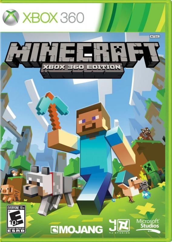 Minecraft for XBox 360 -- another way for kids to get their Minecraft kicks.