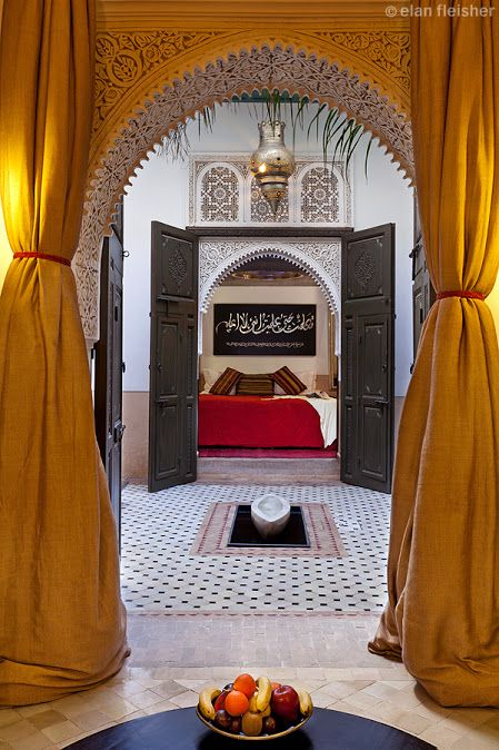 Marrakech and riad farnatchi morocco redouane lahloul for Best riads in marrakesh