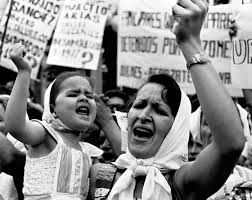 Resultado de imagen para imagenes de la dictadura militar argentina