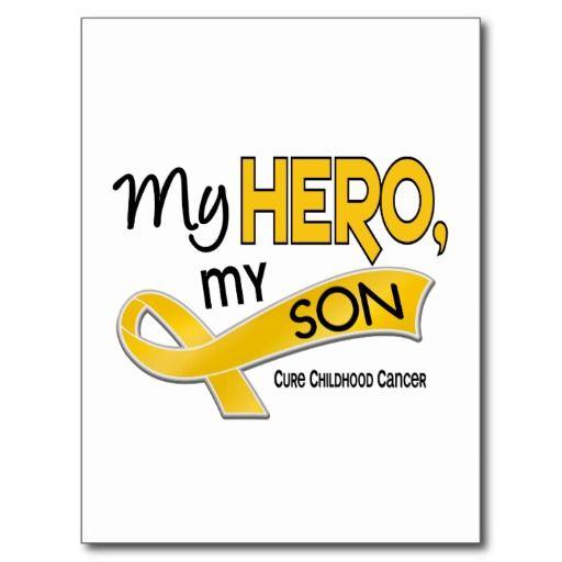 Childhood Cancer MY HERO MY SON 42 Postcards