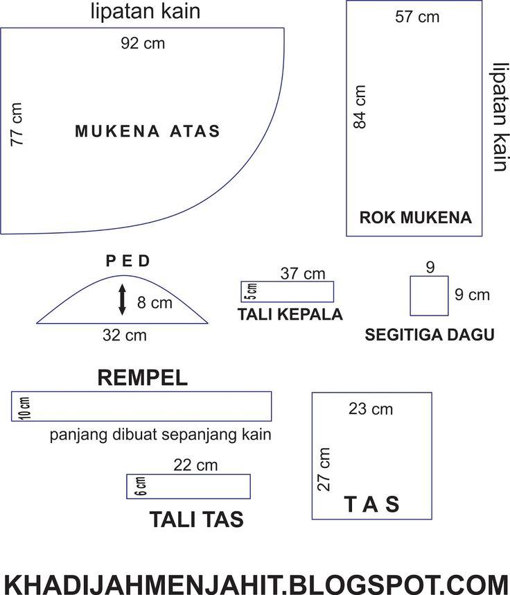 Pola Mukena Anak 5-7 thn