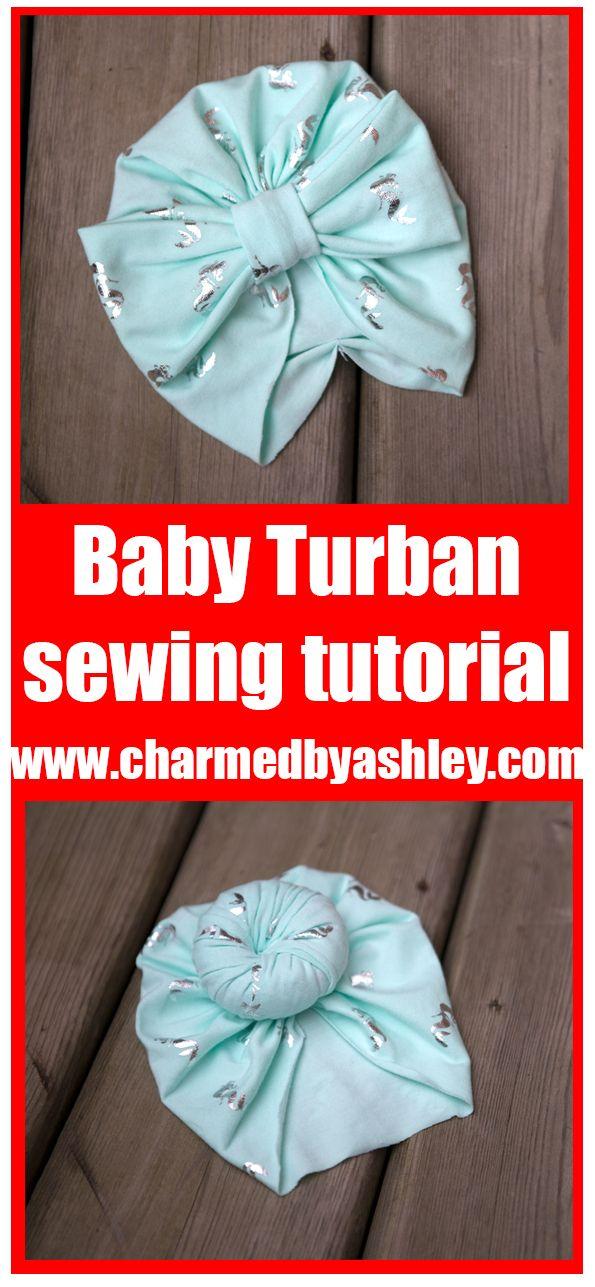 Free Newborn Turban Hat Pattern And Tutorial Accessories A