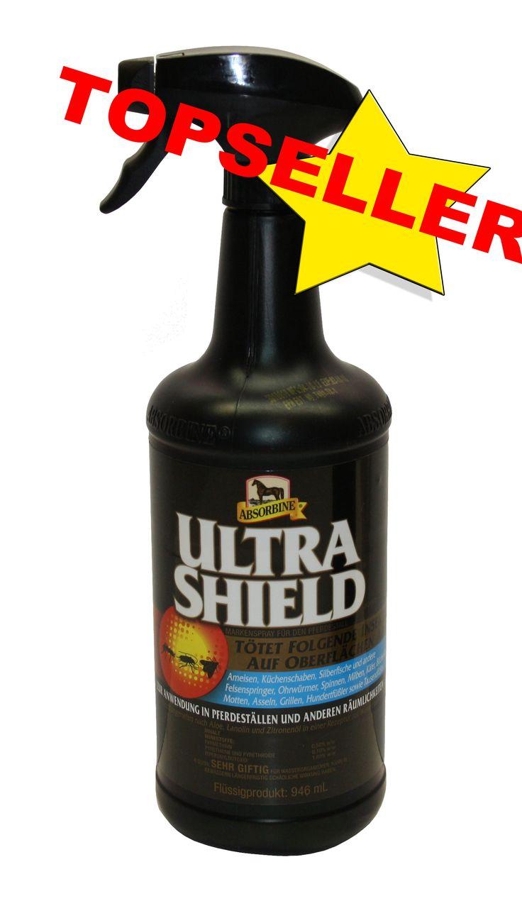 Absorbine Ultrashield Black EX Fliegenspray