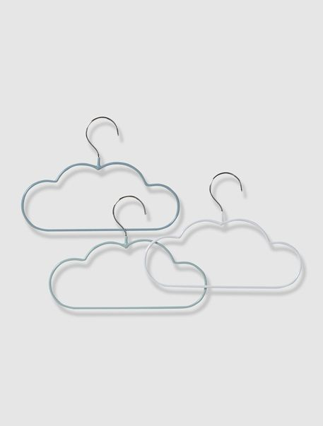cute kids cloud clothes hanger | Wolken Kleiderbügel :-)