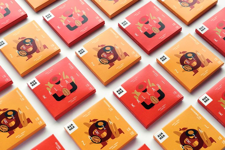 Branding and packaging for Avanaa, a bean-to-bar factory.