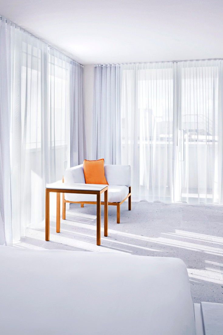 Expect a classic whitewashed look in the guestrooms. #Jetsetter