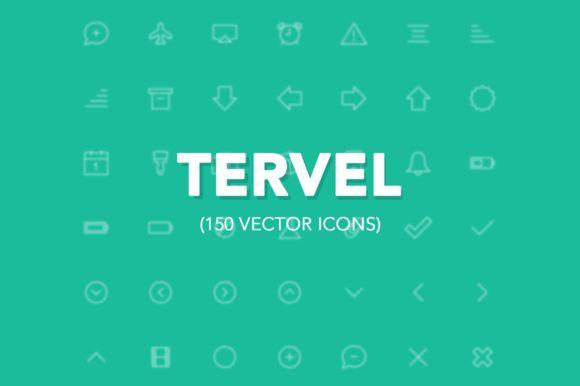Tervel - Vector Stroke Icons iOS7 ~ Icons on Creative Market